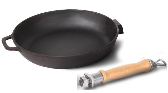 Чугунная сковорода без покрытия