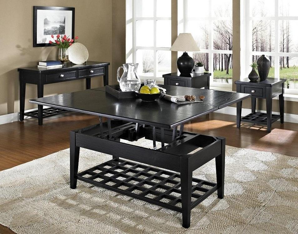Деревянный стол-трансформер для кухни