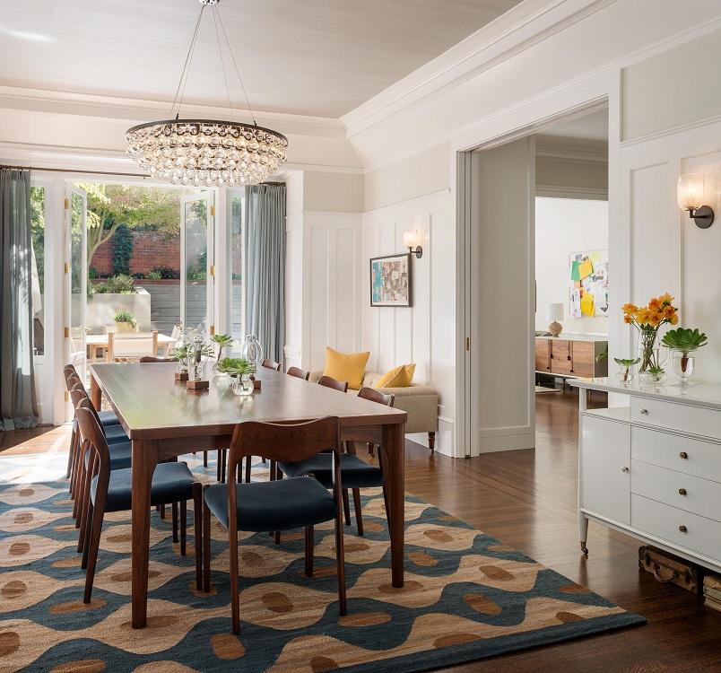 Как выбрать ковер на кухню под стиль интерьера