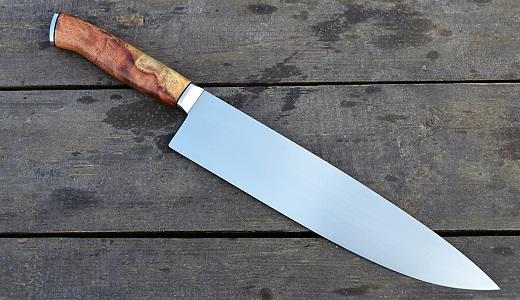 Кухонный нож из титана