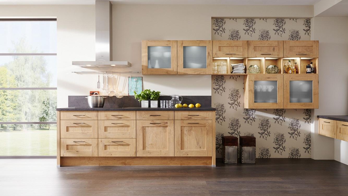Модульные навесные шкафы на кухне