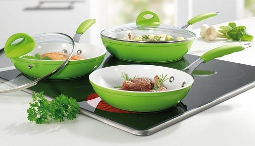 Плюсы и минусы керамической сковороды