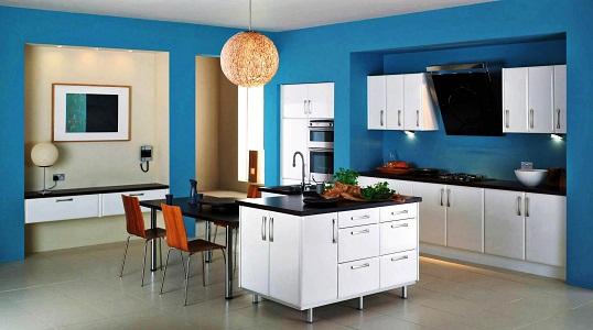 Плюсы и минусы применения краски в интерьере кухни
