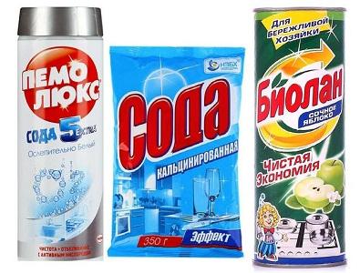 Порошкообразные очистители для кухни