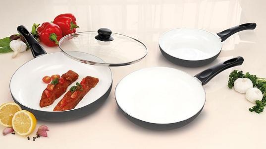Стоимость сковороды с керамическим покрытием