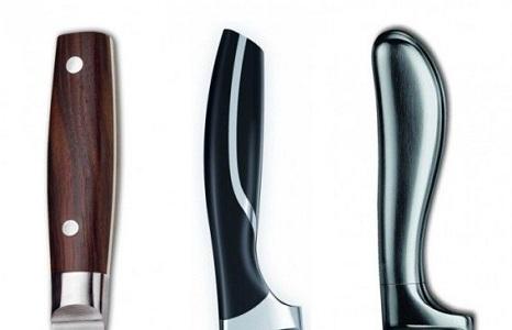 Типы рукояти кухонных ножей