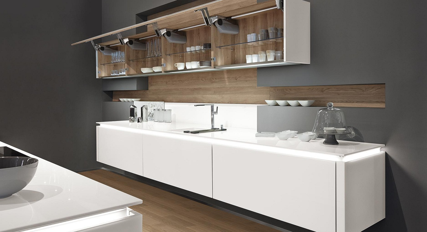 Универсальные навесные шкафы для кухни