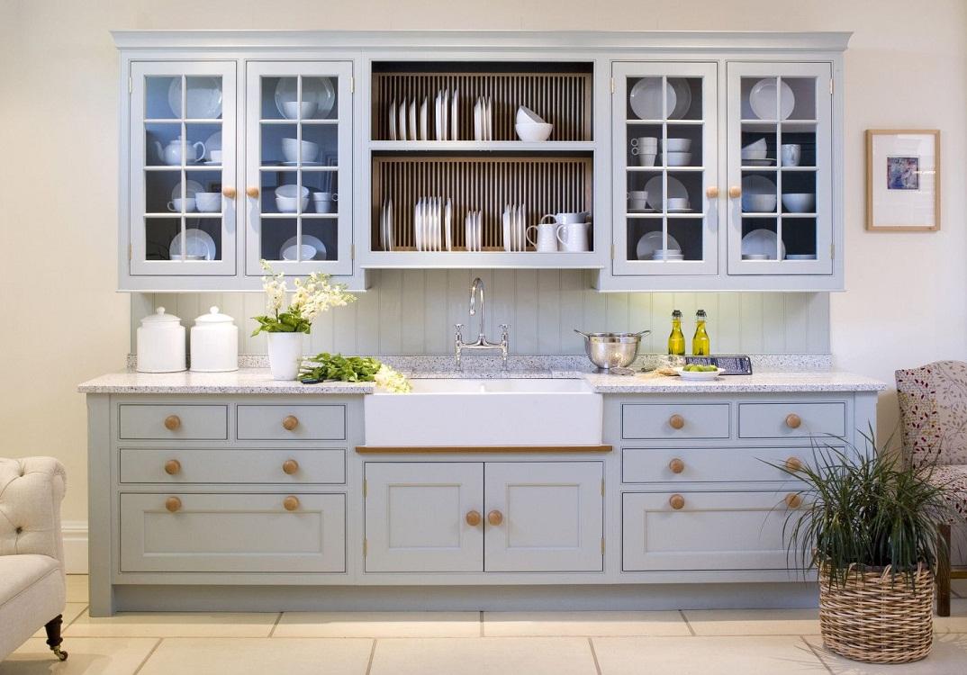 Виды кухонных навесных шкафов