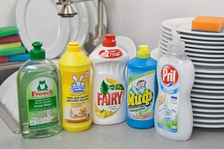 Жидкие моющие средства для кухни