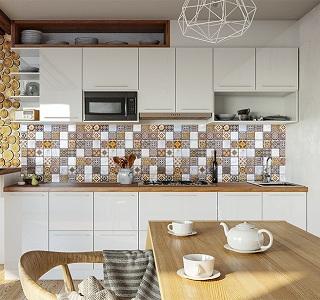 Как выбрать фальш-панель для кухни — разбор вариантов