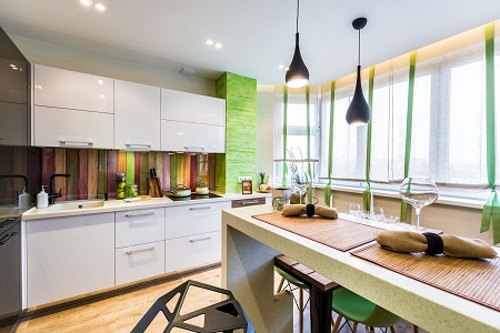 Плюсы и минусы фальш-панели на кухне